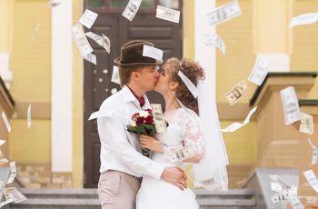 Como dizer aos vossos convidados que vos dêem dinheiro como presente de casamento