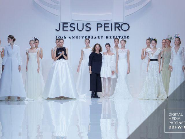 Heritage, a nova coleção de vestidos de noiva Jesús Peiró na BBFW 18