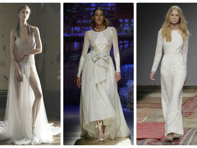 Vestidos para noivas alternativas