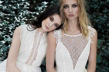 Vestidos de noiva Inmaculada García: romantismo e originalidade numa coleção de sonho