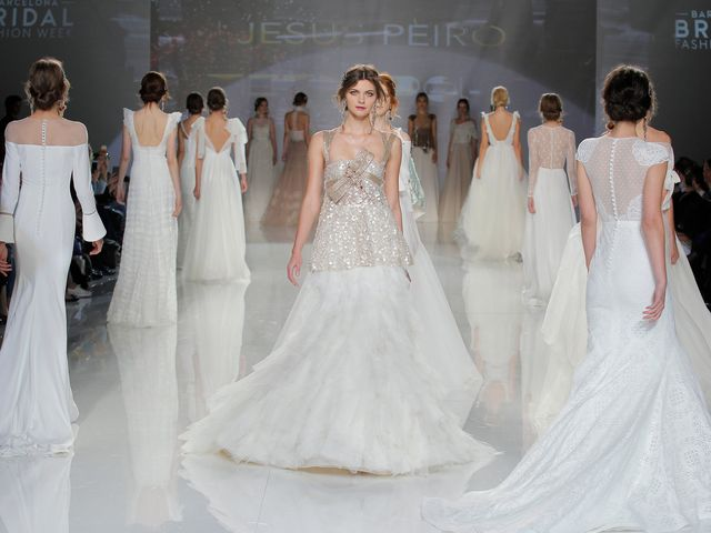 Vestidos de noiva Jesús Peiró 2018: a elegância da simplicidade