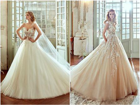 Vestidos de noiva: saias com volume