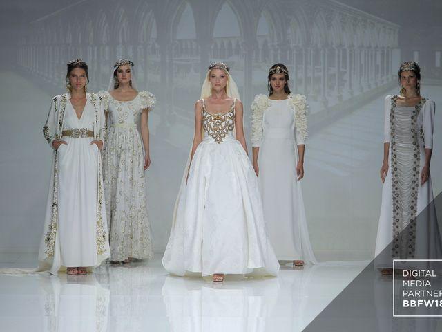 Matilde Cano: vestidos de noiva inspirados na Idade Média para 2019