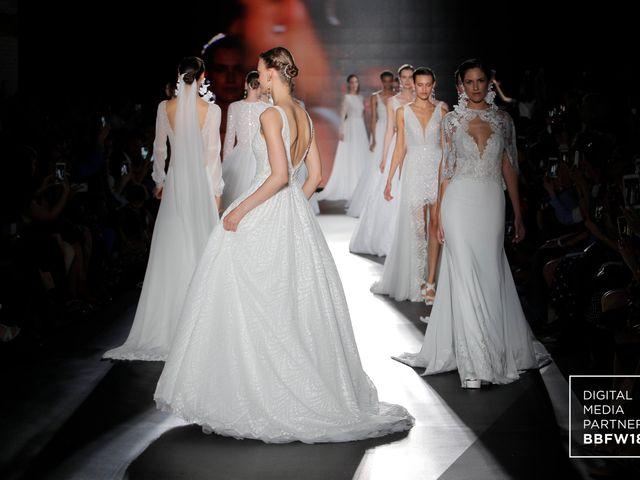 Rosa Clará marcou a BBFW com a sua coleção de vestidos de noiva para 2019