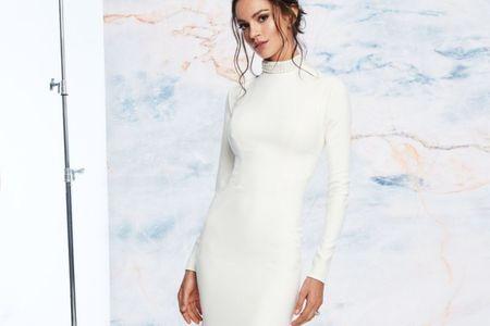Vestidos de noiva com gola alta: um must para a estação fria