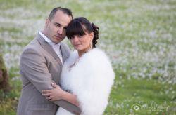 O casamento chic da Sandra e do Anthony