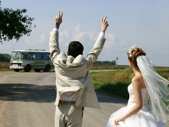 Vantagens e desvantagens de alugar um autocarro para o casamento