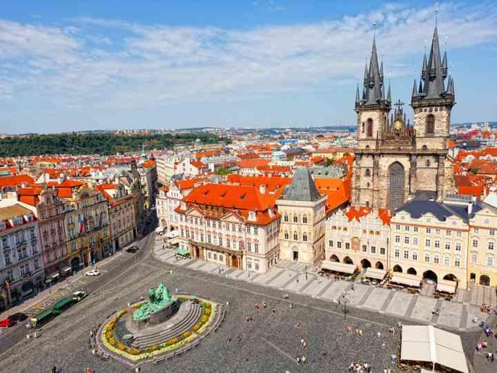 Lua de mel em Praga, uma das cidades mais românticas da Europa