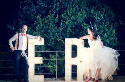 O casamento da Esther e do Ramón: totalmente handamade