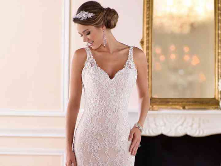 Rosa blush no teu casamento: os vestidos mais incríveis