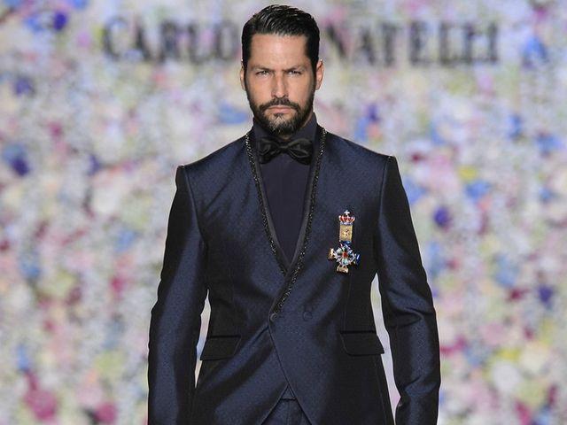 Fatos de noivo Carlo Pignatelli 2018: a essência e charme do noivo italiano a desbravar as passerelles