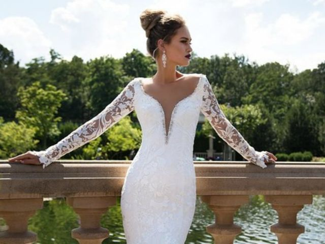 30 Sugestões de vestidos de noiva com manga
