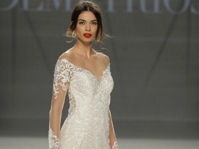 Vestidos com ombros a descoberto: a tendência para noivas e convidadas