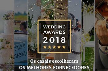 Conhece os premiados da 5ª edição do Wedding Awards