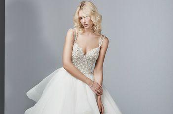 Vestidos de noiva com decote em V: ousadia e elegância no teu dia C!