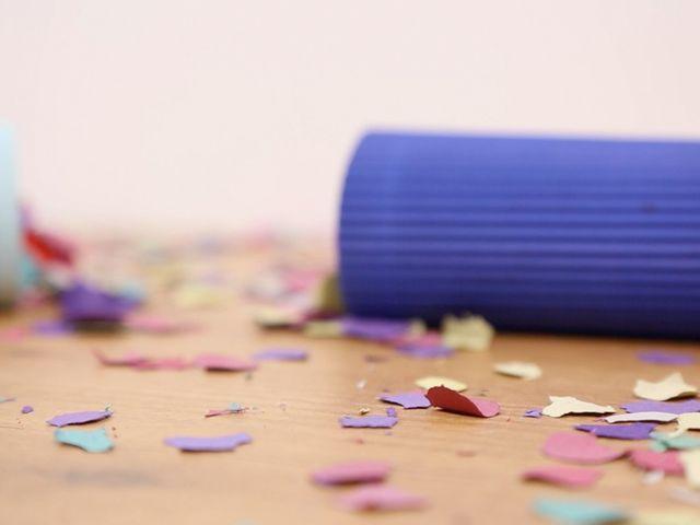 Faz o teu próprio lança confetti