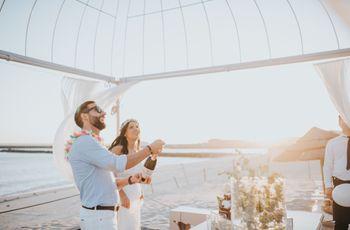 Casamento da Cátia e do Rui: simplicidade e descontração na praia da Azurara