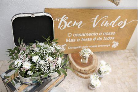 Placas para dar as boas-vindas aos convidados