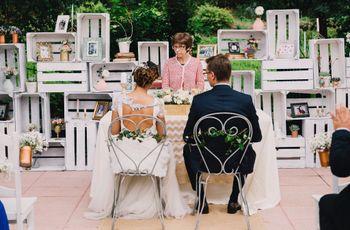 10 ideais originais para o vosso casamento civil