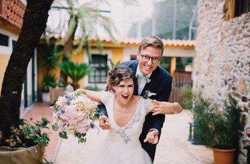 O casamento da Raquel e do Tiago: detalhes vintage num enlace cheio de personalidade