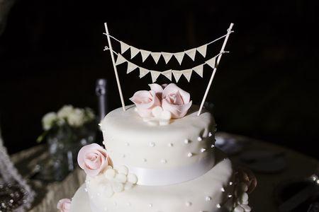 Tend�ncias nos bolos de casamento 2015