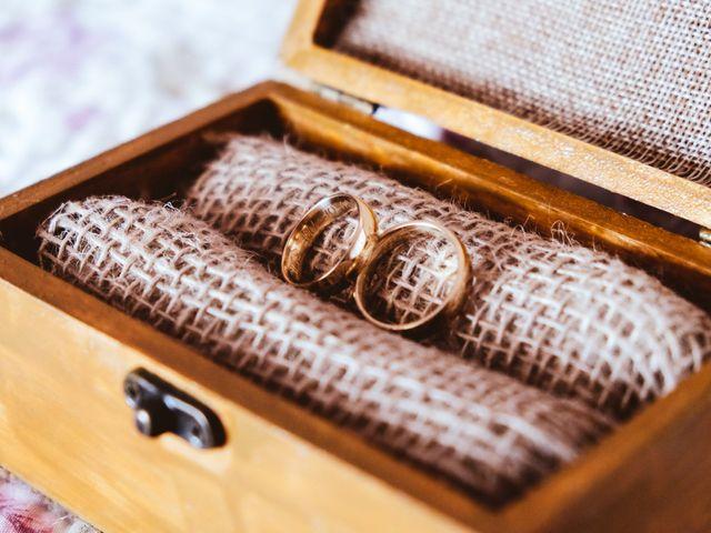Caixinhas românticas para levar as alianças
