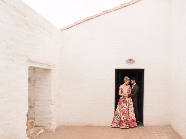 15 vestidos de noiva com cor e flor