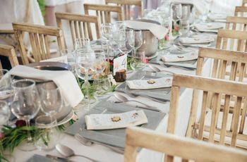 Tipos de mesa para o banquete
