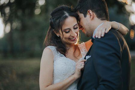 O casamento da Ana e do Tiago: um perfeito ambiente natural, rústico e floral