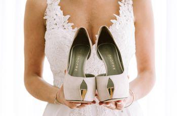 Levar um segundo par de sapatos para o casamento