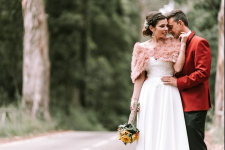 O casamento da Paula e do Joaquim: o romantismo de um enlace rústico e elegante!