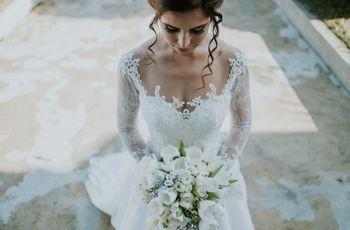 Vestidos de noiva com renda: a última tendência no mundo nupcial