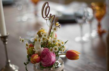 13 Ideias originais para nomear as mesas do copo de água