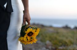 25 Buquês de noiva  simples
