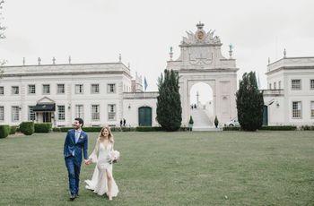 O casamento da Maria Eduarda e do Lucas: charme e romantismo na Serra de Sintra
