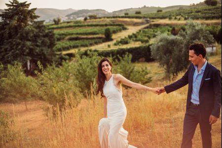 O casamento da Carolina e do Nuno: ambiente íntimo e elegante em Lamego