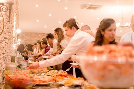 4 tipos de buffet para o vosso casamento