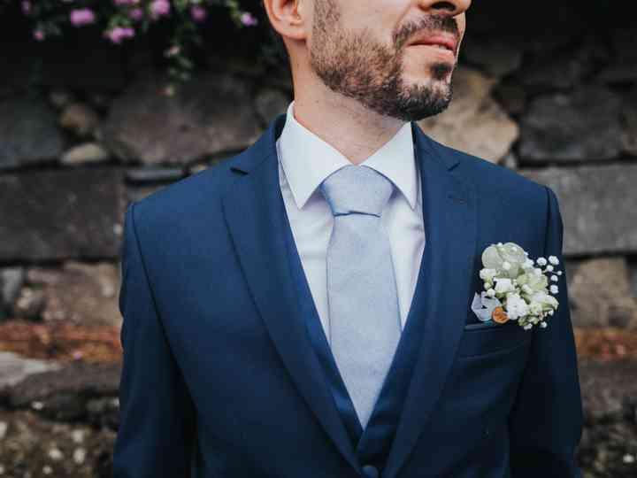Acessórios do noivo: flor ou lenço?