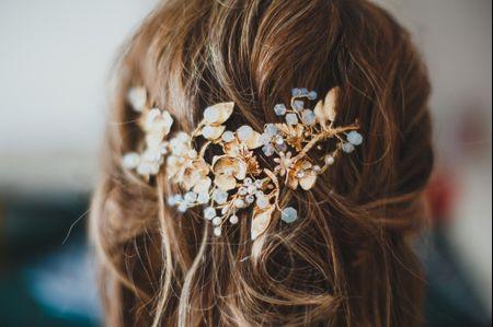 Acessórios para o cabelo das noivas que se casam no Inverno