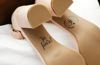 5 Truques para tornar os sapatos de noiva mais confortáveis