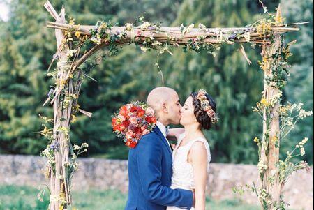 Decoração para casamentos rustic chic