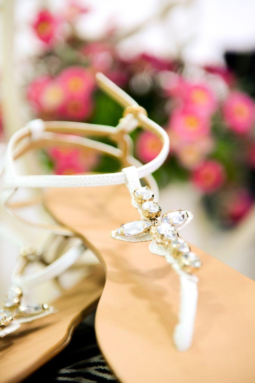 Truques para tornar os sapatos de noiva mais confortáveis