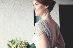 Detalhes metálicos no teu look de noiva