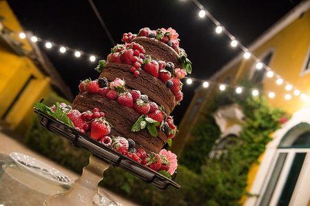 Naked Cakes, uma tend�ncia de bolos de casamento