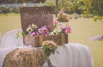 Ideias para um casamento Shabby Chic