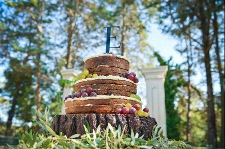 Naked Cakes, uma tendência de bolos de casamento