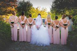 Como escolher as damas de honor