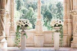 Ideias branco total pra decorar o teu casamento