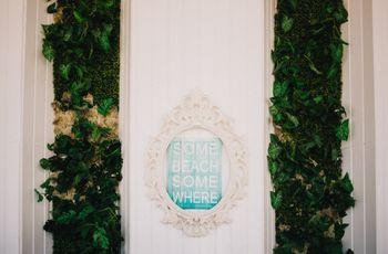 Jardins verticais-a forma mais ecológica e original de decorar o teu casamento