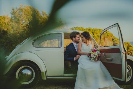 Contratar o carro de casamento